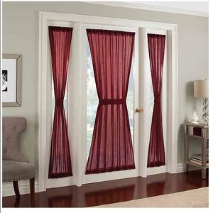 Accents - 🆕 Crushed Voile Rod Side Window Curtain Panel